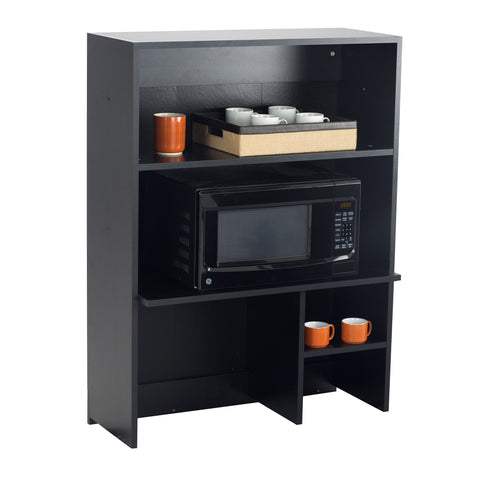 Hospitality Cabinet, Appliance Hutch Cabinet, Asian Night Door Panels & Black Side Panels