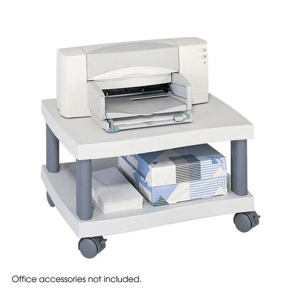 Wave Underdesk Printer Stand, Gray