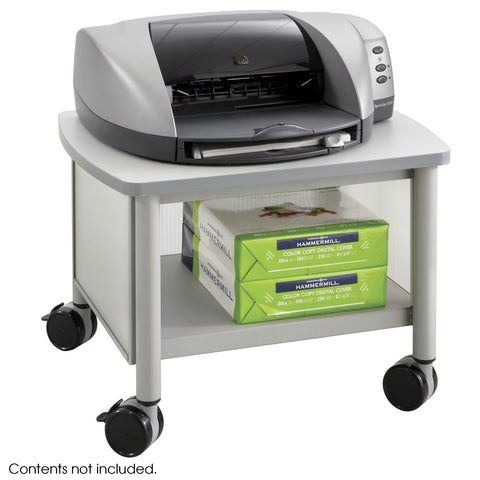 Impromptu® Under Table Printer Stand, Gray