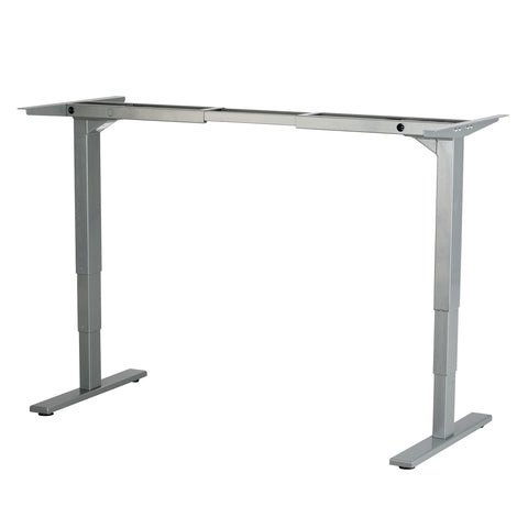 Safco Electric Height-Adjustable Table, Base, Gray