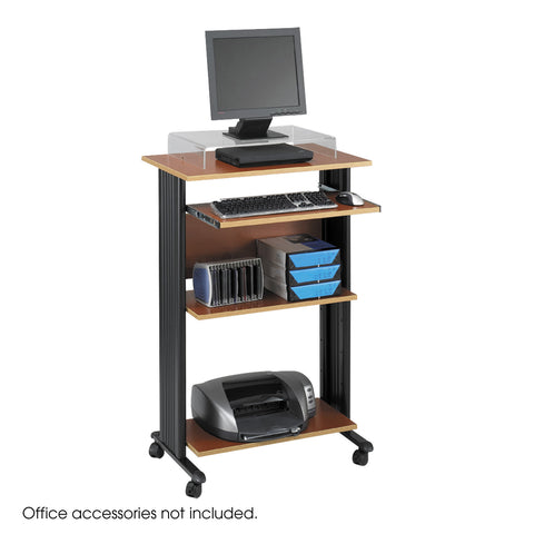Muv™ Stand-Up Desk, Cherry
