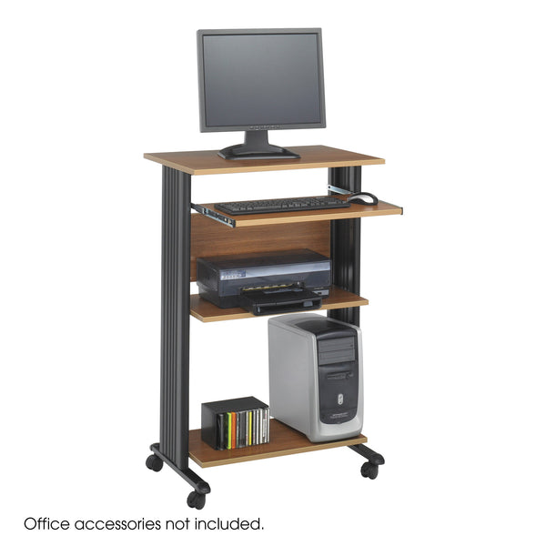 Muv™ Stand-Up Desk, Medium Oak