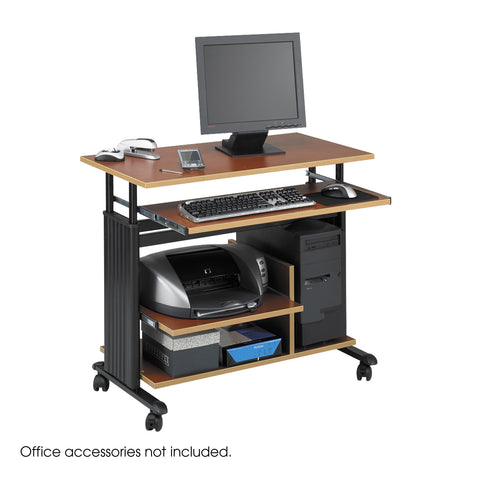 Muv™ Mini Tower Desk, Cherry