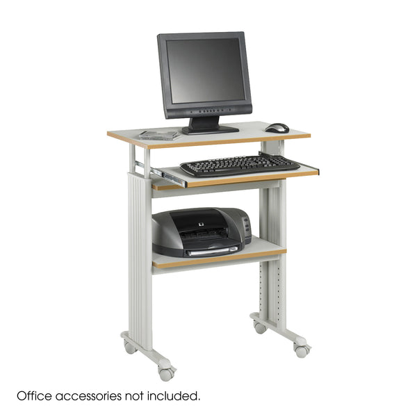 Muv™ Stand-Up Adjustable-Height Desk, Gray