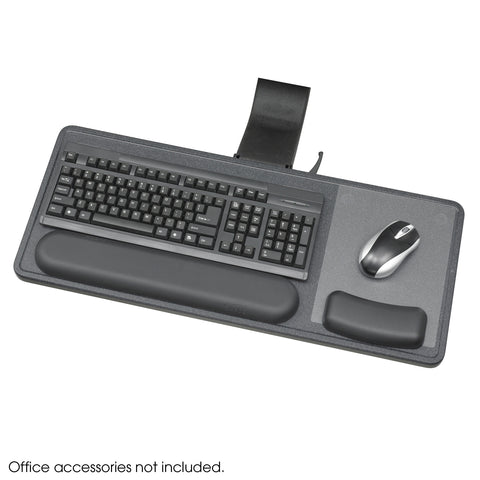 Ergo-Comfort® Sit/Stand Articulating Keyboard/Mouse Arm, Black