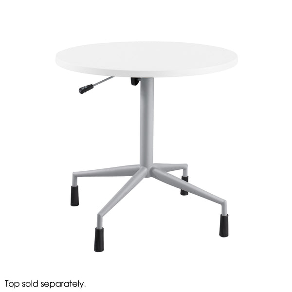 RSVP™ Tables, Pneumatic Base, Metallic Gray