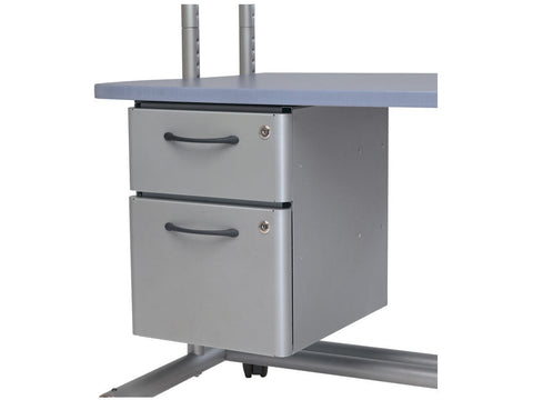 Anthro 6H And 11H File Drawer, Silver 298SM