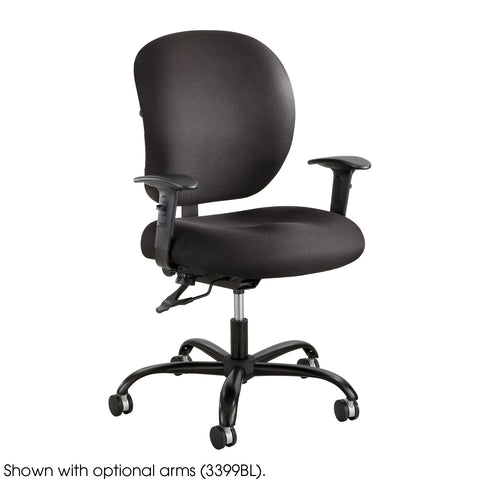 Alday™ Task Chair, 24/7, Black