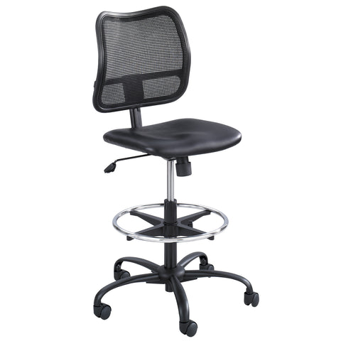 Vue™ Extended-Height Chair, Black Vinyl