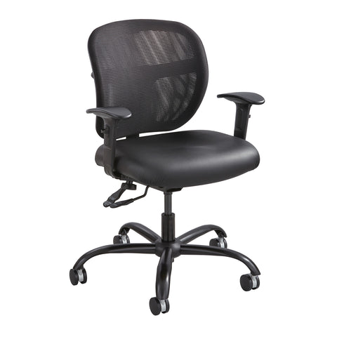 Vue™ Intensive-Use Task Chair, Mesh, Black Vinyl