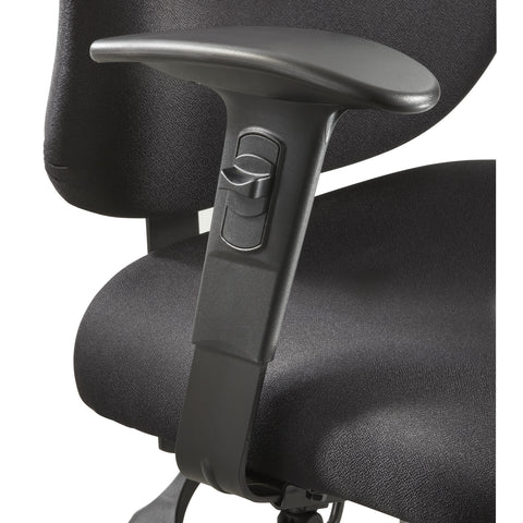 Vue™ Intensive-Use Task Chair, Adjustable Width Arm Kit, Black (Set)