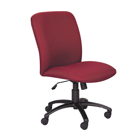 Uber™ Big & Tall Task Chair, High Back, Burgundy