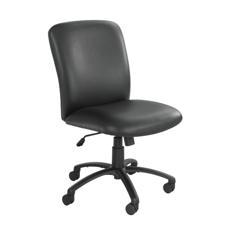 Uber™ Big & Tall Task Chair, High Back, Black Vinyl