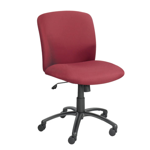 Uber™ Big & Tall Task Chair, Mid Back, Burgundy