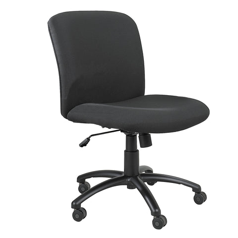 Uber™ Big & Tall Task Chair, Mid Back, Black