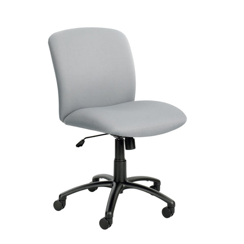 Uber™ Big & Tall Task Chair, Mid Back, Gray