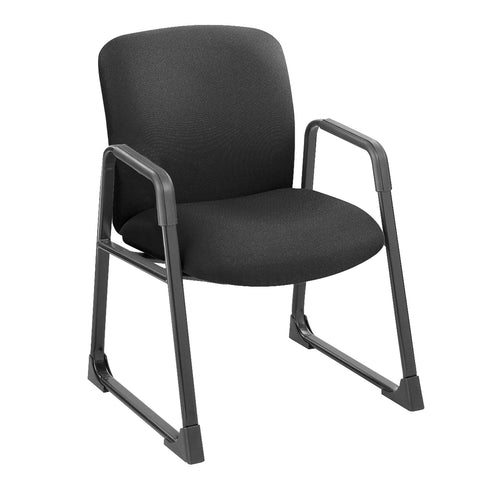 Uber™ Big & Tall Guest Chair, Black