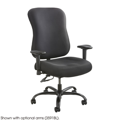 Optimus™ Big & Tall Chair, 400 lb. Capacity, Black