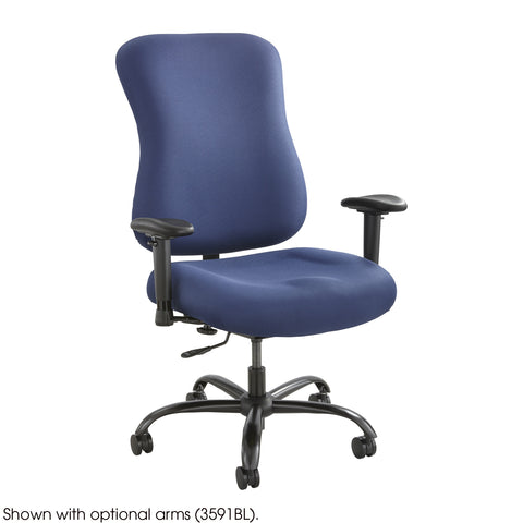 Optimus™ Big & Tall Chair, 400 lb. Capacity, Burgundy