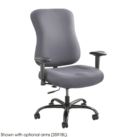 Optimus™ Big & Tall Chair, 400 lb. Capacity, Gray