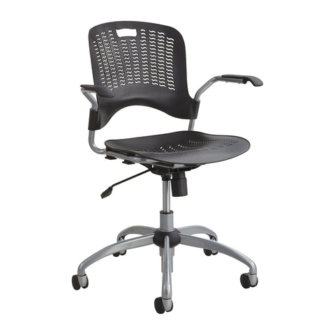 Sassy®  Manager Swivel Chair, Black