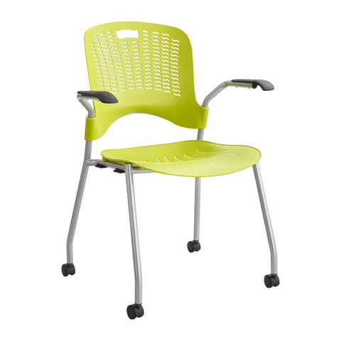 Sassy® Stack Chair, Grass Green, (Qty. 2)