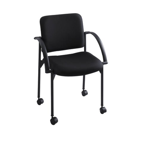 Moto™ Stack Chair, Black, (Qty. 2)