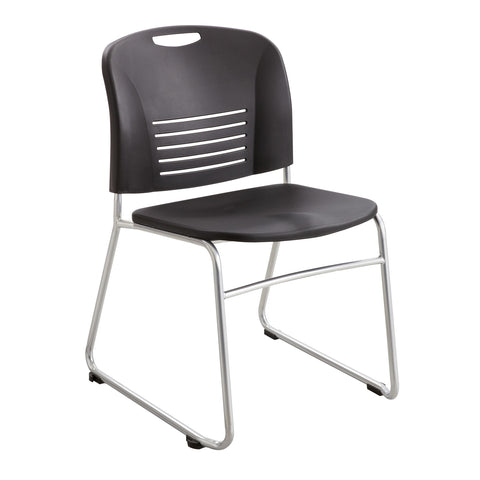 Vy™ Stack Chair, Sled Base, Black, (Qty. 2)