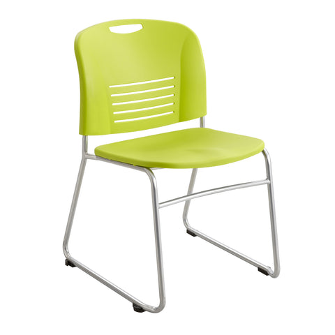 Vy™ Stack Chair, Sled Base, Grass Green, (Qty. 2)
