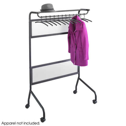Impromptu® Garment Rack, 12 Coat Hangers, Black