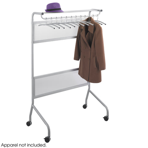 Impromptu® Garment Rack, 12 Coat Hangers, Gray