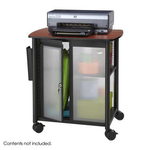 Impromptu® Personal Mobile Storage Center, Black