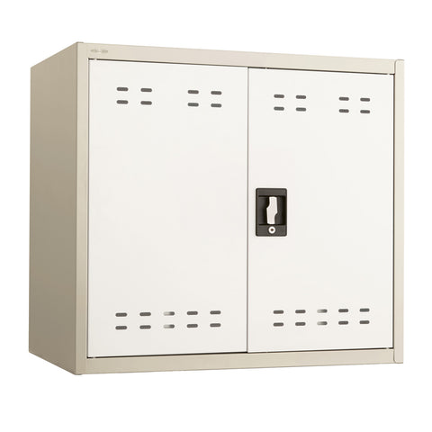 "Storage Cabinet, 27""H, Steel, Tan"