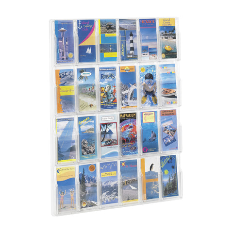 Reveal™ Literature Organizer Display, 24 Pamphlet