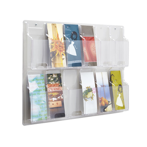 Reveal™ Literature Organizer Display, 12 Pamphlet