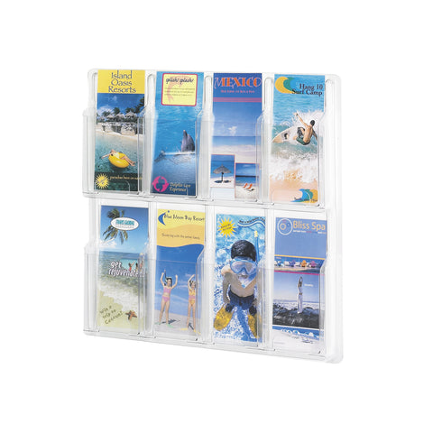 Reveal™ Literature Organizer Display, 8  Pamphlet