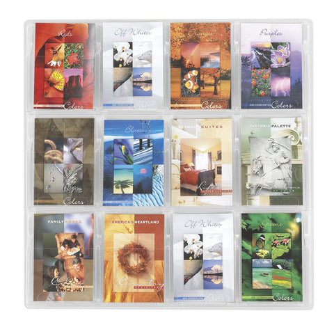 Reveal™ Literature Organizer Display, 12 Booklet
