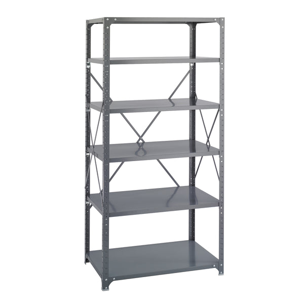 "Commercial Steel Shelving, Shelf Kit, 36 x 24"", (Qty. 6)"