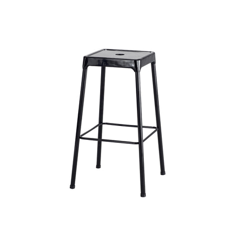 "Safco® Steel Stool, Bar-Height, 29""H, Black"