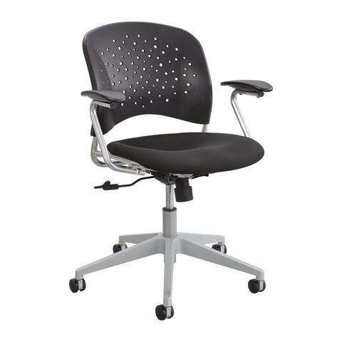 Reve™ Task Chair, Round Back, Black