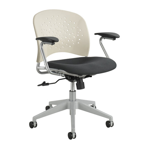 Reve™ Task Chair, Round Back, Latte