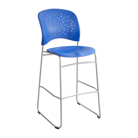 Reve™ Bistro-Height Chair, Round Back, Lapis