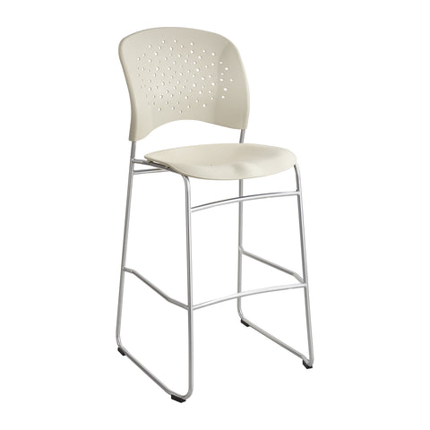 Reve™ Bistro-Height Chair, Round Back, Latte