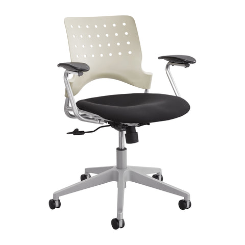 Reve™ Task Chair, Square Back, Latte