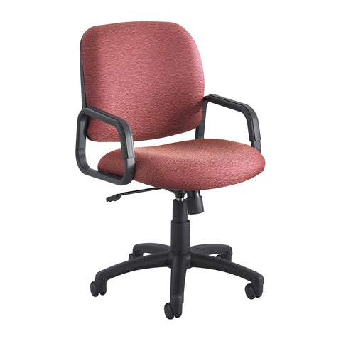 Cava® Urth™ Task Chair, High Back, Burgundy