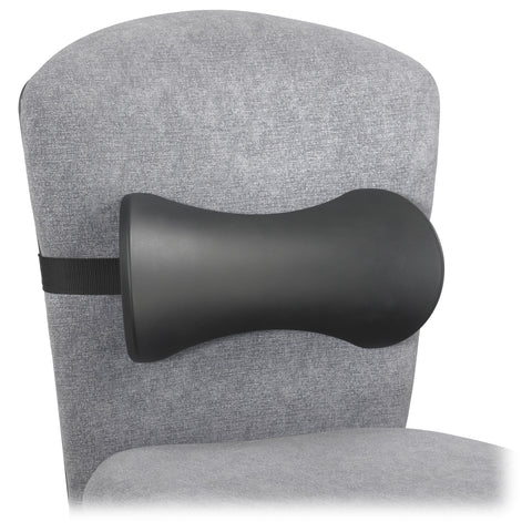 Memory Foam Lumbar Support Backrest, Black, (Qty. 5)