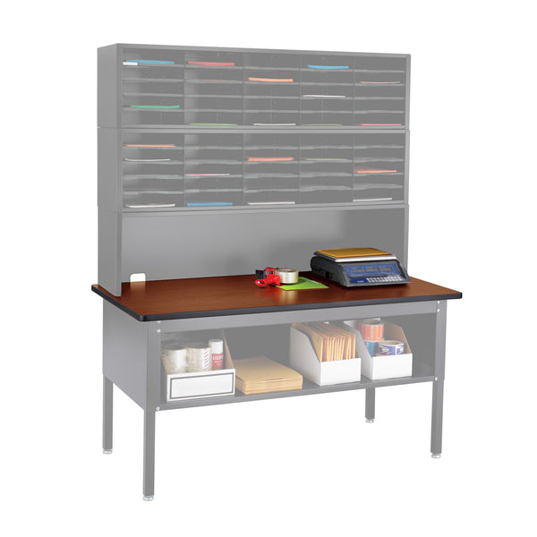 E-Z Sort® Tabletop, Mailroom, Cherry