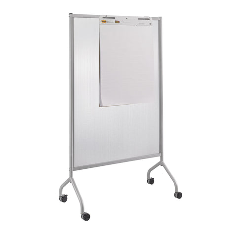 "Impromptu® Screen, Polycarbonate, 42 x 72"", Gray"