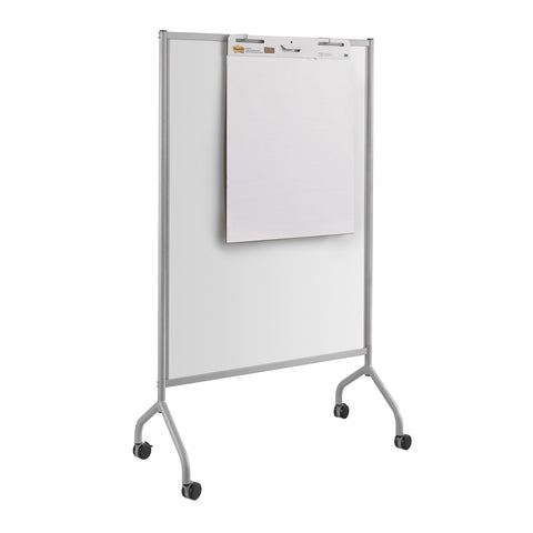 "Impromptu® Screen, Whiteboard, 42 x 72"",  Gray"