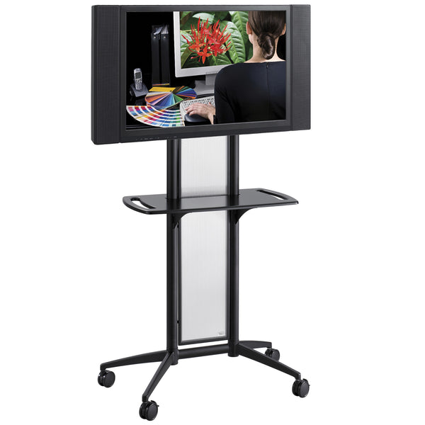 Impromptu® Flat Panel TV Cart, Black